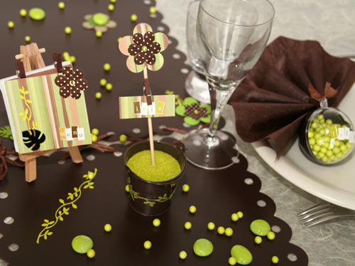 5 id es d co pour une table de mariage champ tre les for Decoration de table idees