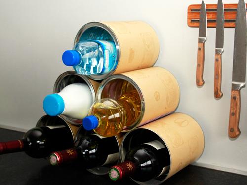 Cr ez votre casier bouteilles partir de r cup 39 les ateliers de mireiales ateliers de - Faire ses casiers a bouteilles ...