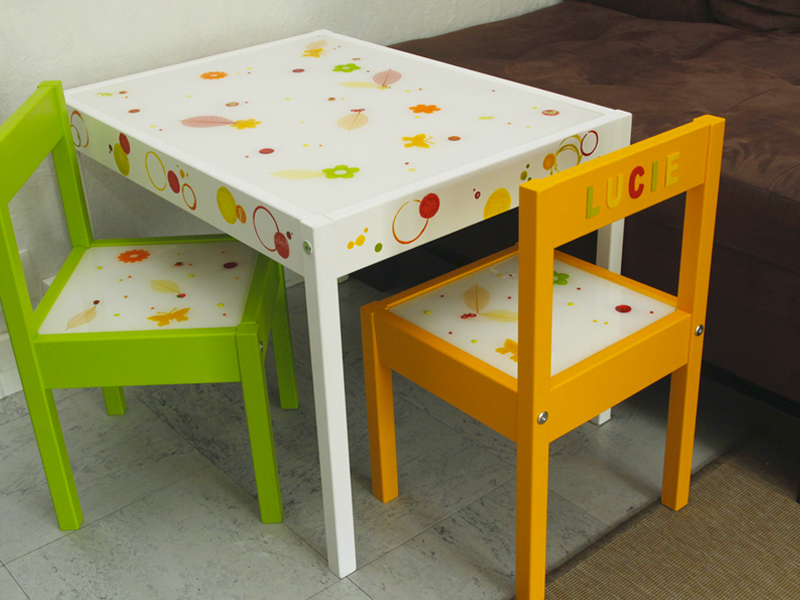 Diy customisation de meubles pour enfants les ateliers for Table qui s agrandit ikea