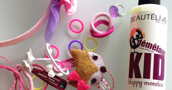 Démêlant pour cheveux d'enfants Kid Happy Monsters Beautélive - Gouiran
