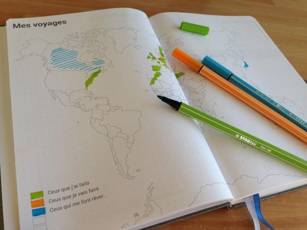 Planisphère Agenda personnalisable My365