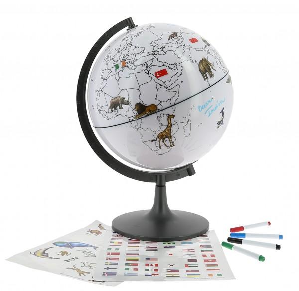 Globe terrestre Montessori Nature et découvertes
