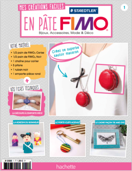 Collection Fimo n°1 couverture