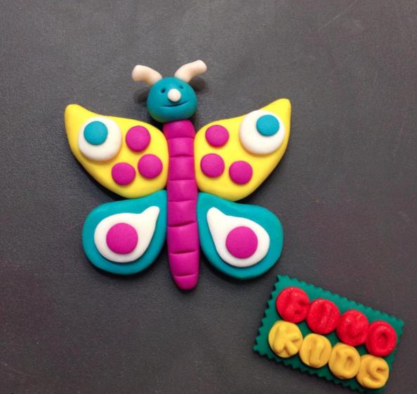 Fimo kids papillon