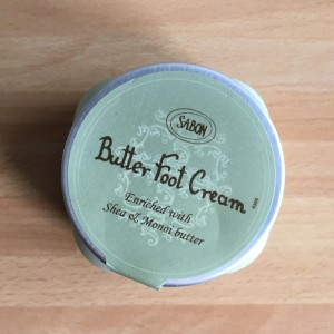 Crème pieds karité Sabon