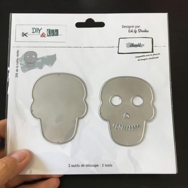 DIYetcie dies skull