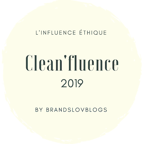 L'influence éthique Clean' Influence 2019 by Brandslovblogs