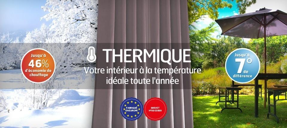 rideau thermique contre la chaleur appareils m nagers pour la vie. Black Bedroom Furniture Sets. Home Design Ideas