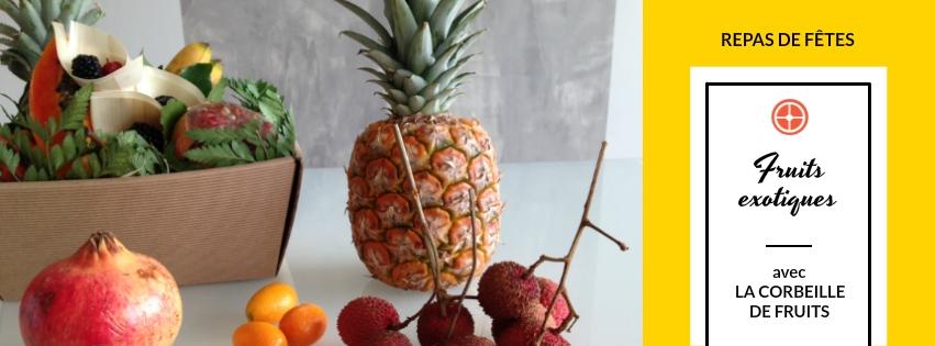 Recettes de fêtes avec des fruits exotiques