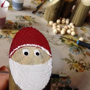Père Noël en bois PEFC