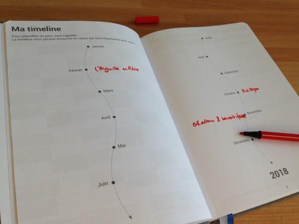Planner annuel visuel Agenda personnalisable My365