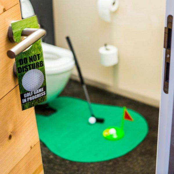 idée cadeau Noël Cadeauxfolies Golf WC