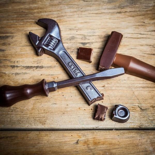idée cadeau Noël Cadeauxfolies outils chocolat