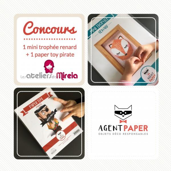 Concours Agent Paper