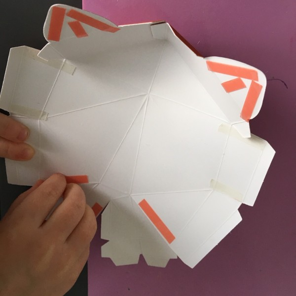 Trophée renard Agent paper