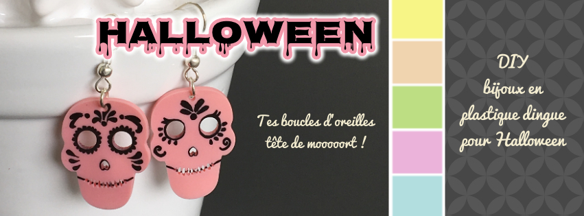 Bijoux plastique dingue Halloween