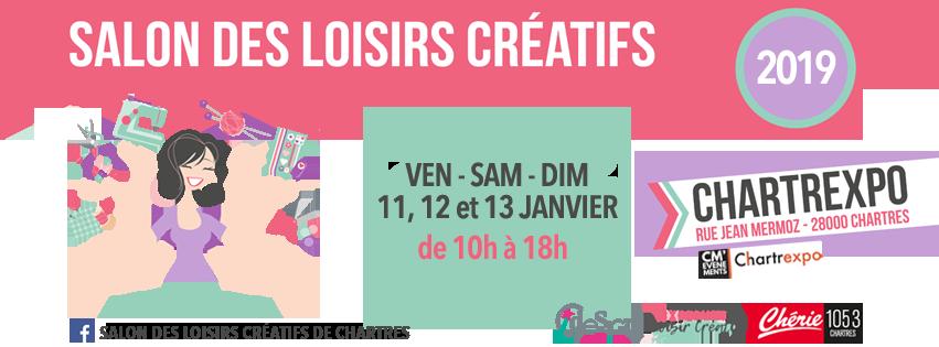 salon des loisirs créatifs de Chartres 2019