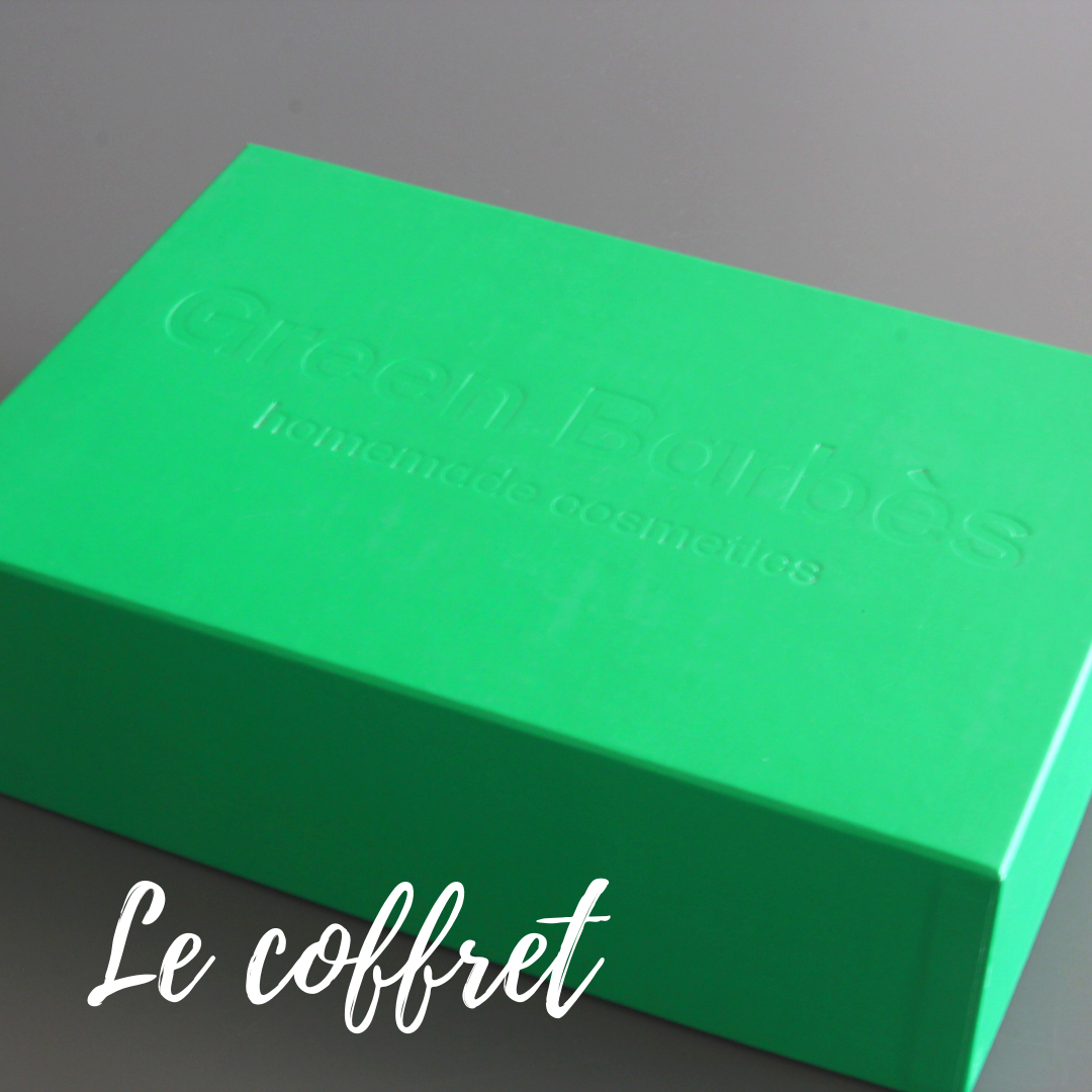 Green Barbès kit DIY cosmétique