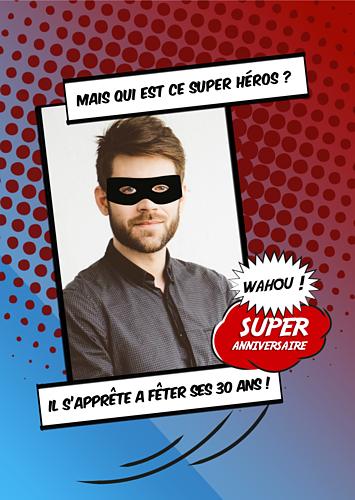 anniversaire super-héros