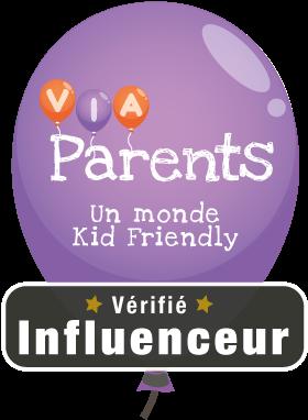 Je fais partie des parents influencers sélectionnés par la plate-forme ViaParents