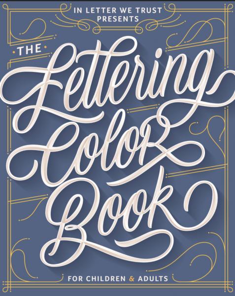 Lettering et coloriage