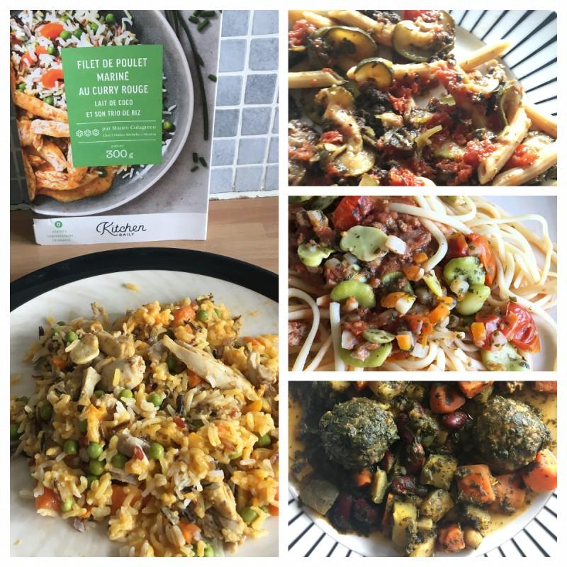 Box repas Kitchendaily plats cuisinés