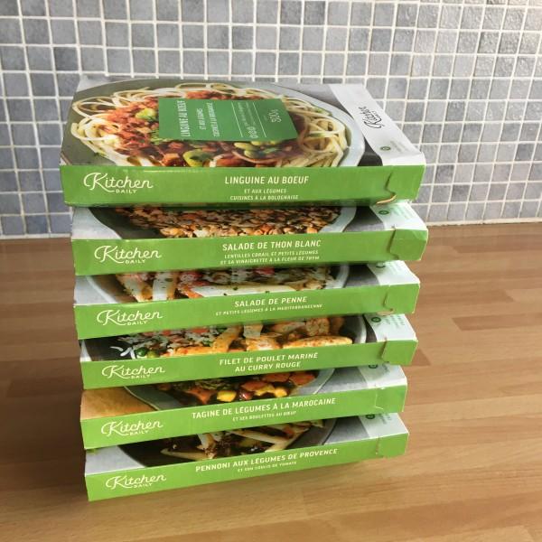Plats cuisinés box repas Kitchendaily