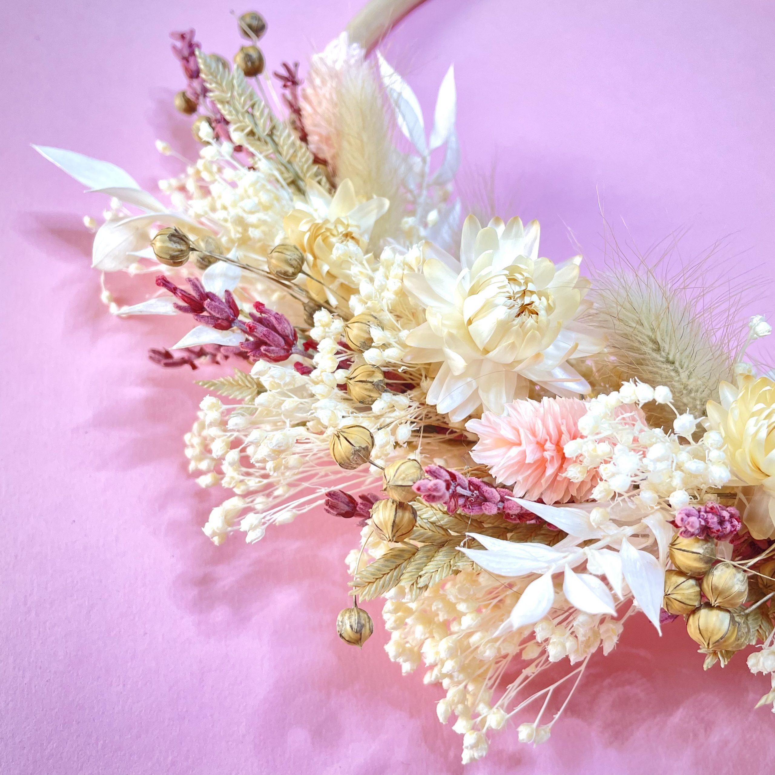 Kit couronne de fleurs Java de chez Flowrette